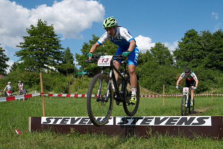 Alessia Bulleri at European Continental Championships - XCO-XCE (2014)