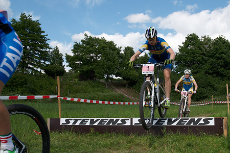 Alexandra Engen at European Continental Championships - XCO-XCE (2014)