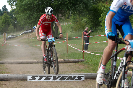 Niels Bech Rasmussen at European Continental Championships - XCO-XCE (2014)