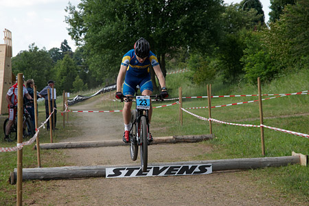 Robin Thyrstedt at European Continental Championships - XCO-XCE (2014)