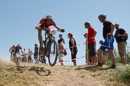 David Valero at European Continental Championships - XCO-XCE (2014)