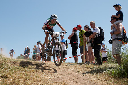Fabian Giger at European Continental Championships - XCO-XCE (2014)