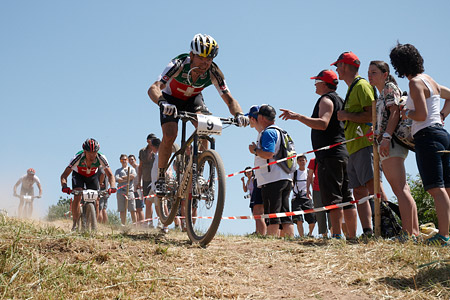 Florian Vogel at European Continental Championships - XCO-XCE (2014)