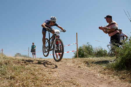 Hugo Drechou at European Continental Championships - XCO-XCE (2014)