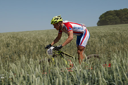 Ivan Seledkov at European Continental Championships - XCO-XCE (2014)