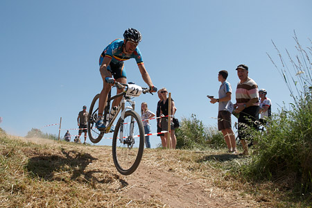 Kevin Van Hoovels at European Continental Championships - XCO-XCE (2014)