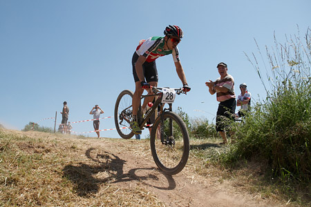 Martin Fanger at European Continental Championships - XCO-XCE (2014)