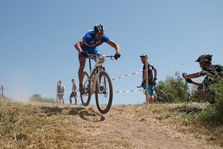 Michal Lami at European Continental Championships - XCO-XCE (2014)