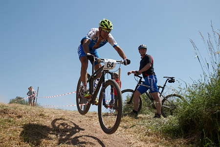 Michele Casagrande at European Continental Championships - XCO-XCE (2014)
