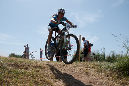 Alice Pirard at European Continental Championships - XCO-XCE (2014)
