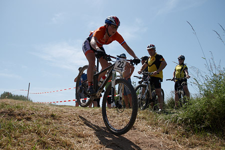 Anne Terpstra at European Continental Championships - XCO-XCE (2014)