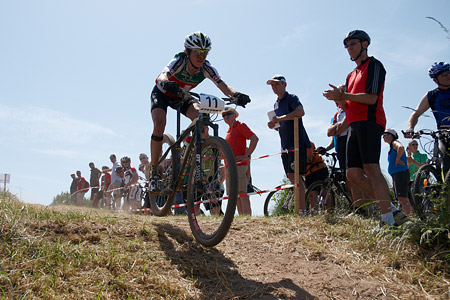 Esther Süss at European Continental Championships - XCO-XCE (2014)