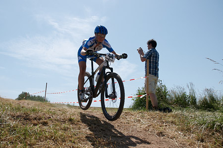 Maaris Meier at European Continental Championships - XCO-XCE (2014)
