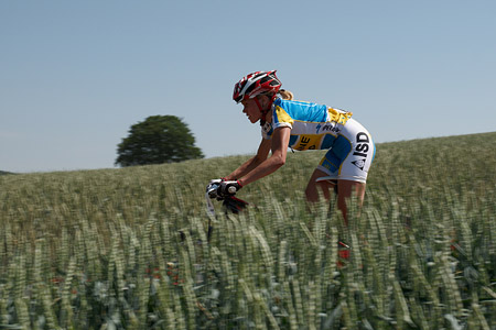 Nataliya Krompets at European Continental Championships - XCO-XCE (2014)