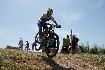 Serena Calvetti at European Continental Championships - XCO-XCE (2014)