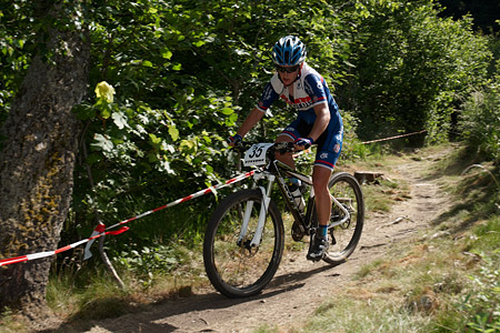 Jelena Eric at European Continental Championships - XCO-XCE (2014)
