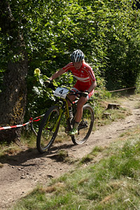 Malene Degn at European Continental Championships - XCO-XCE (2014)