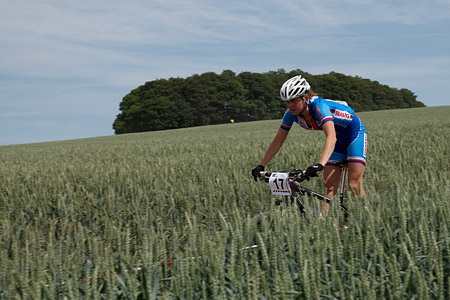 Barbora Machulkova at European Continental Championships - XCO-XCE (2014)