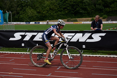 Margot Moschetti at European Continental Championships - XCO-XCE (2014)