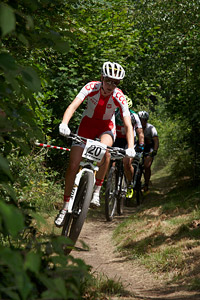 Monika Żur at European Continental Championships - XCO-XCE (2014)