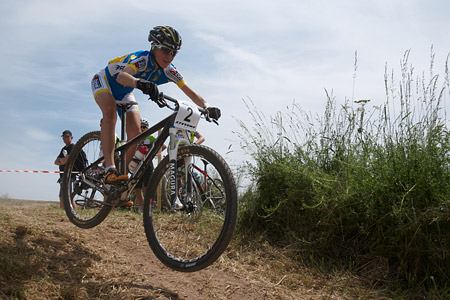 Yana Belomoyna at European Continental Championships - XCO-XCE (2014)