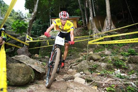 Kohei Yamamoto at Langkawi International Mountainbike Challange (2013)