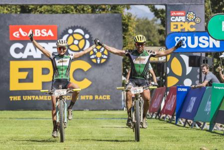 Thomas Frischknecht at Absa Cape Epic (2017)