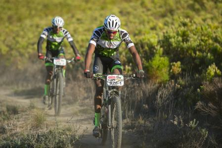 William Mokgopo at Absa Cape Epic (2017)