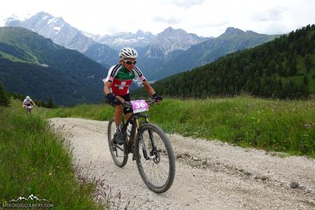 Barbara Liardet at UCI MTB MARATHON WORLD CHAMPIONSHIPS - XCM (2015)