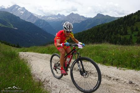 Claudia Galicia Cotrina at UCI MTB MARATHON WORLD CHAMPIONSHIPS - XCM (2015)