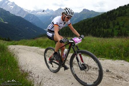 Stephanie Dohrn at UCI MTB MARATHON WORLD CHAMPIONSHIPS - XCM (2015)