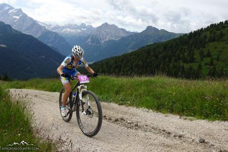 Yana Belomoyna at UCI MTB MARATHON WORLD CHAMPIONSHIPS - XCM (2015)