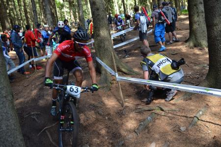 Abdulkadir Kelleci at UCI MTB WORLD CHAMPIONSHIPS - XCO/XCE (2016)