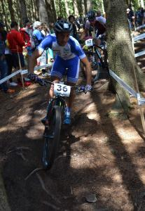 Dimitrios Antoniadis at UCI MTB WORLD CHAMPIONSHIPS - XCO/XCE (2016)