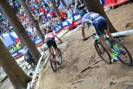 Florian Vogel at UCI MTB WORLD CHAMPIONSHIPS - XCO/XCE (2016)