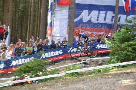 Howard Grotts at UCI MTB WORLD CHAMPIONSHIPS - XCO/XCE (2016)