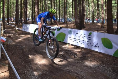 Michele Casagrande at UCI MTB WORLD CHAMPIONSHIPS - XCO/XCE (2016)