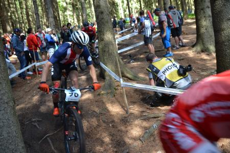 Spencer Paxson at UCI MTB WORLD CHAMPIONSHIPS - XCO/XCE (2016)