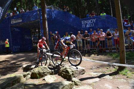 Romain Seigle at UCI MTB WORLD CHAMPIONSHIPS - XCO/XCE (2016)