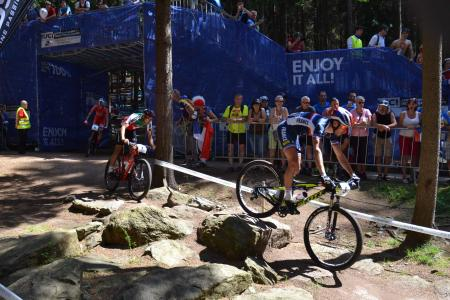 Titouan Carod at UCI MTB WORLD CHAMPIONSHIPS - XCO/XCE (2016)