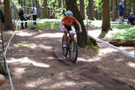 Anne Tauber at UCI MTB WORLD CHAMPIONSHIPS - XCO/XCE (2016)