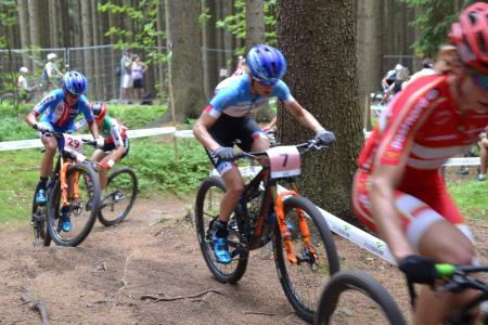 Kateřina Nash at UCI MTB WORLD CHAMPIONSHIPS - XCO/XCE (2016)