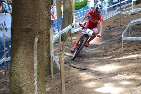 Simon Andreassen at UCI MTB WORLD CHAMPIONSHIPS - XCO/XCE (2016)