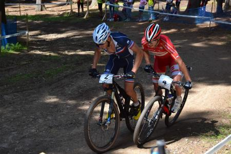 Victor Koretzky at UCI MTB WORLD CHAMPIONSHIPS - XCO/XCE (2016)