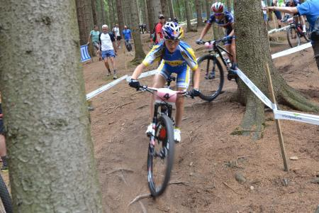 Yana Belomoyna at UCI MTB WORLD CHAMPIONSHIPS - XCO/XCE (2016)