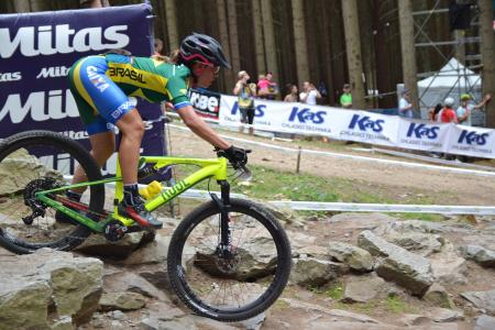 Cindy Montambault at UCI MTB WORLD CHAMPIONSHIPS - XCO/XCE (2016)