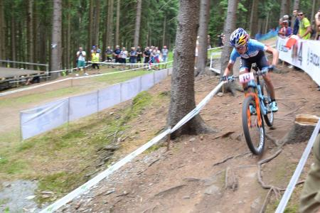 Emily Batty at UCI MTB WORLD CHAMPIONSHIPS - XCO/XCE (2016)