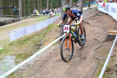 Erin Huck at UCI MTB WORLD CHAMPIONSHIPS - XCO/XCE (2016)