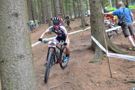 Fabienne Schaus at UCI MTB WORLD CHAMPIONSHIPS - XCO/XCE (2016)