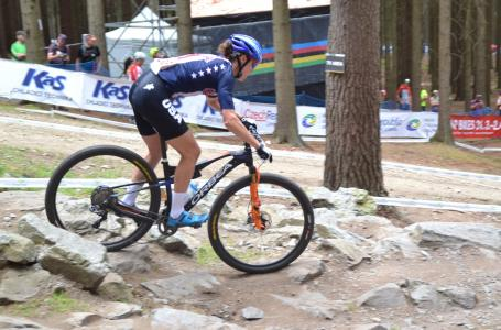 Georgia Gould at UCI MTB WORLD CHAMPIONSHIPS - XCO/XCE (2016)